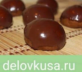 пряники шоколадная глазурь фото рецепт