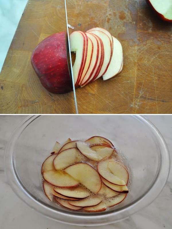 Как сделать сахарное яблоко 418