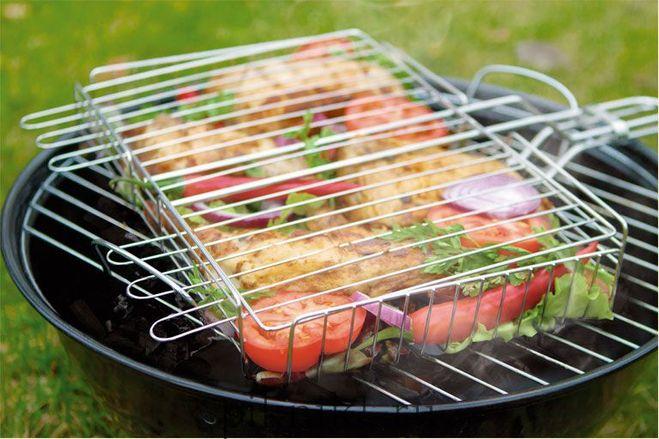 Как приготовить овощи на гриле в лесу, на даче, на пикнике у речки