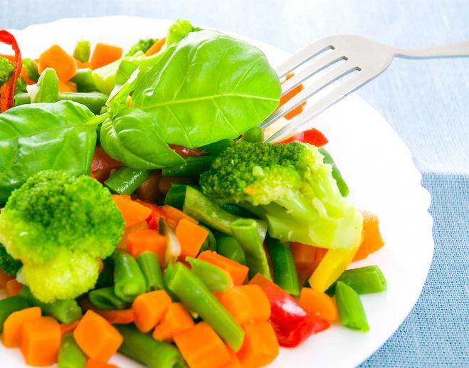 Овощи на пару в мультиварке рецепт