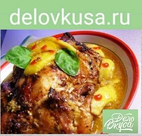 курица с манго фото рецепт