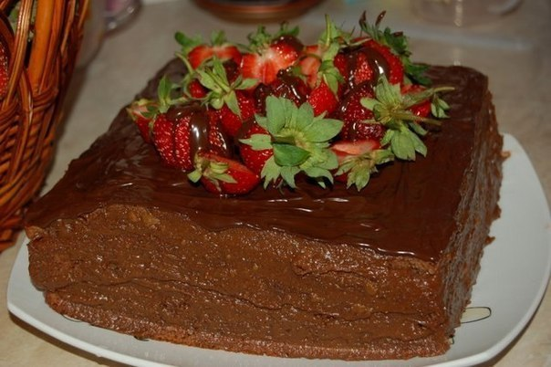 торт шоколадное кухэ