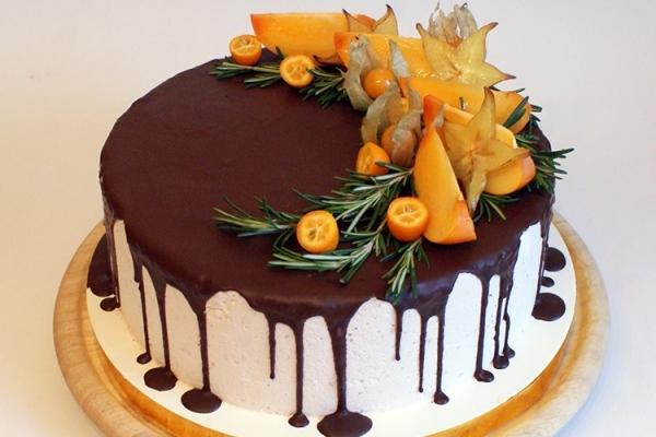 Как украсить торт шоколадом своими руками