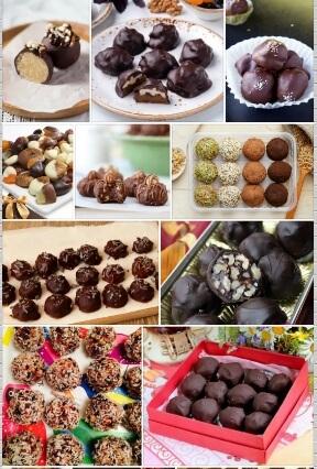 шоколадные конфеты фото рецепт